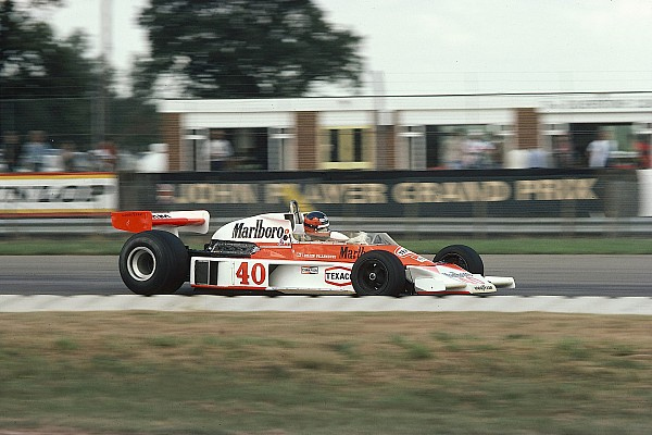 El día que Villeneuve corrió su primer GP en un McLaren en 1977