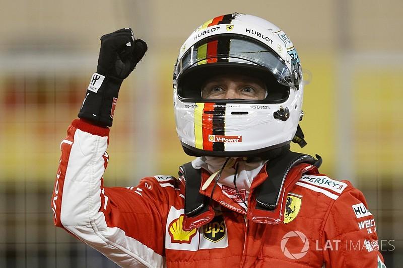 فيتيل يتفوّق على رايكونن وينطلق أوّلاً في سباق البحرين