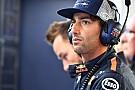 Ricciardo se sometió a una pequeña cirugía en el labio antes de Bakú