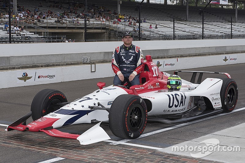 Daly to race Indy 500 with Andretti Autosport, U.S. Air Force