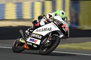 Moto3 Race report Le Mans Moto3: Arenas inherits win after penalty drama