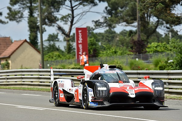 Le Mans 24h: Toyota 4s clear of privateers in warm-up