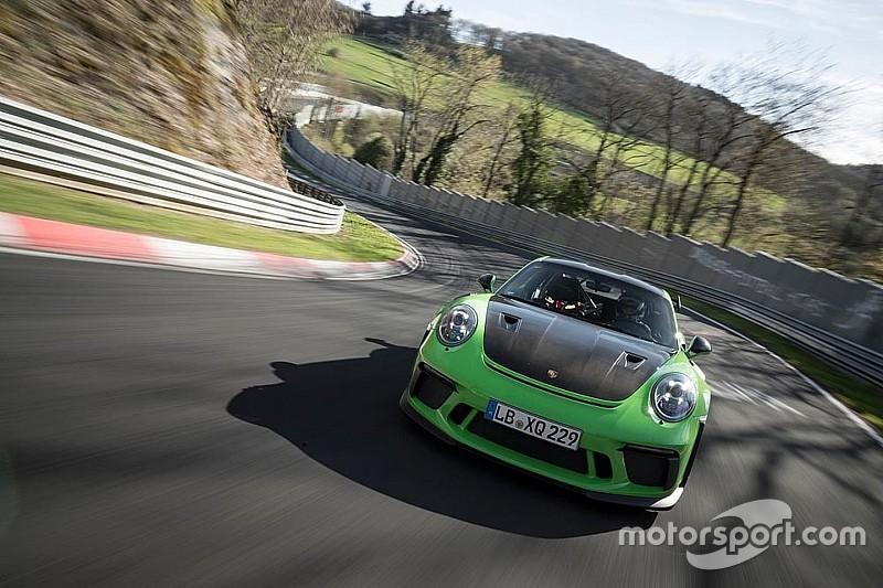 Video Ronderecord Nordschleife Voor Nieuwe Porsche 911 Gt3 Rs