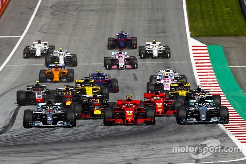 Diaporama - Tous les départs de la saison 2018 de F1