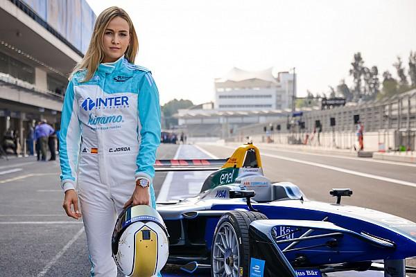 Fórmula E VIDEO: miren a Carmen Jordá en su test en Fórmula E