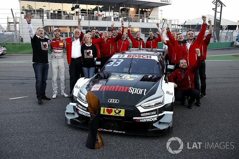 Siegesfeier von Rene Rast: Auch Nico Rosberg fliegt ein
