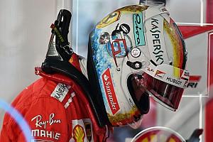 Формула 1 Спеціальна можливість Феттель представив новий дизайн шолома для Гран Прі Японії