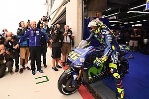 Márquez fue el mejor en la primera práctica, con Rossi 18°