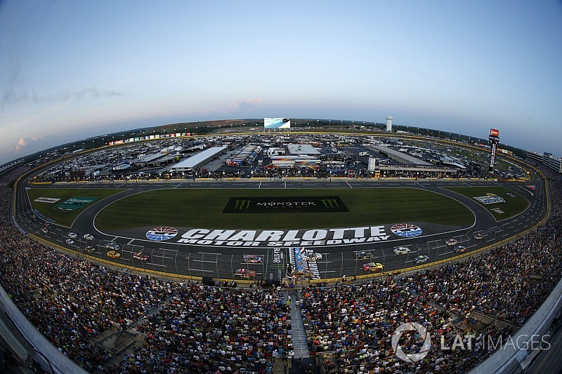 Nascar to test xfinity aero package in all star race for Charlotte motor speedway hotel packages