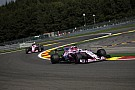 F1 2017: Hassduell bei Force India hatte Höhepunkt in Spa