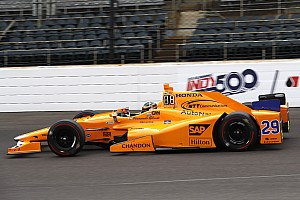 IndyCar Practice report Indy 500: Alonso tops practice for Fast Nine contenders