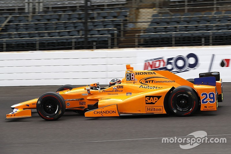 Indy 500: Alonso tops practice for Fast Nine contenders