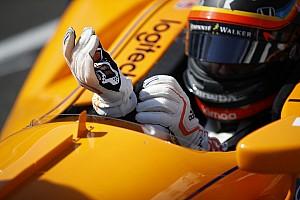 IndyCar Reporte de prácticas Vídeo: así fue la tercera jornada de test en la que Alonso fue 4º