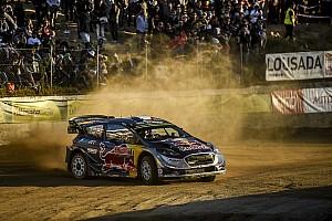 WRC Leg report Portugal WRC: Ogier inherits lead after Tanak mistake