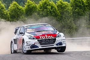 World Rallycross Réactions Petite déception pour Hansen, plus grosse pour Loeb