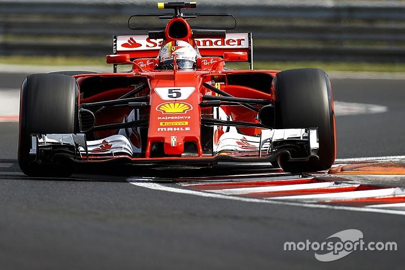 Vettel lidera la mañana y Kubica es séptimo