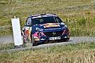 WRC Jari Huttunen e Tamara Molinaro con le Opel Adam R2 in Germania