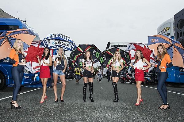 MotoGP Breaking news Promotor MotoGP Prancis pertahankan grid girl