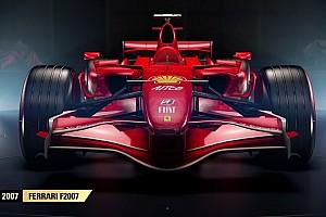 Sim racing BRÉKING Négy retro Ferrari is lesz az F1 2017 játékban: Räikkönen?