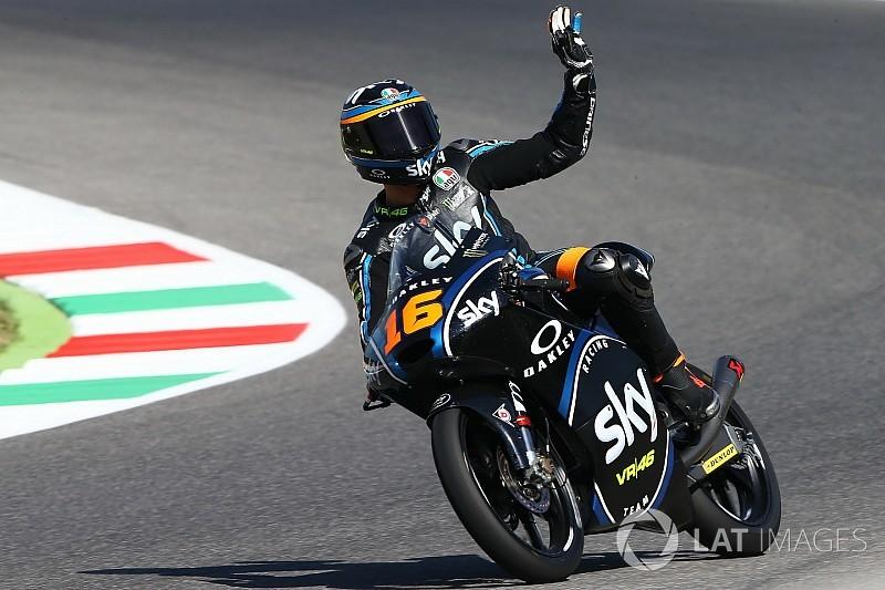【Moto3】ムジェロ決勝:集団の中の大混戦。ミーニョが制し初優勝