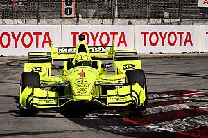 IndyCar Reporte de prácticas Long Beach: Pagenaud manda en el warm-up