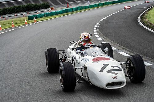 Verstappen samples Honda's first F1 winner