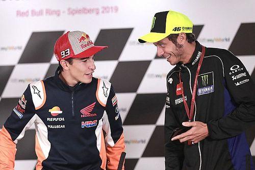 """Dovizioso: """"Rossi o Marquez? Valentino ha più talento"""""""