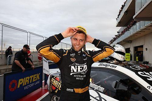 New Supercars race winner Heimgartner almost quit racing for finance job