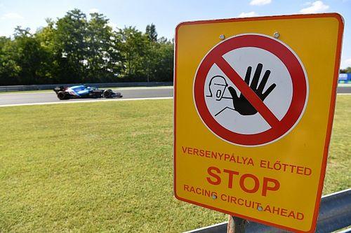 Las mejores fotos del viernes de F1 en Hungría