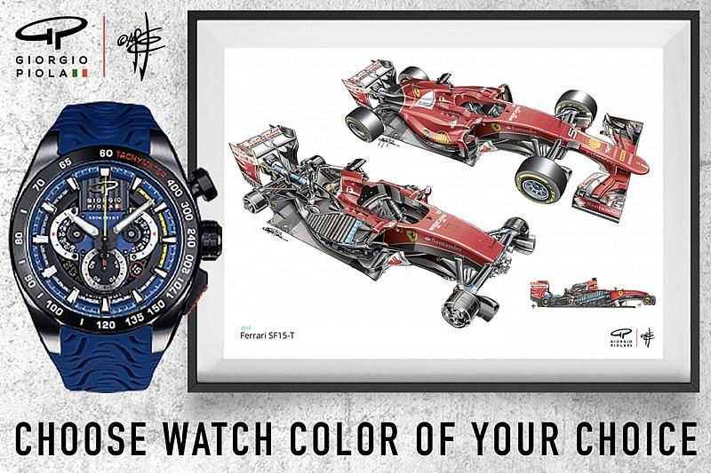 Джорджо Піола запустив колекцію годинників SHIFT на Kickstarter