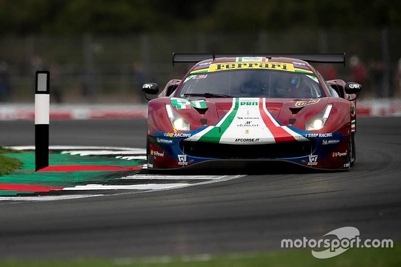 Ferrari: strepitosa vittoria firmata da Pier Guidi e Calado a Silverstone nella classe GTE-Pro