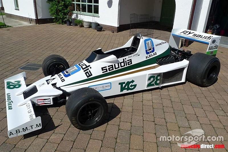 Williams FW06 de Alan Jones está à venda na Internet