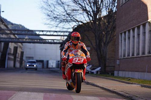 Siapa Sosok di Balik Helm Marquez dalam Video Presentasi Honda?