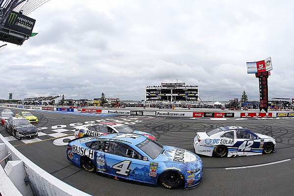 Kyle Larson: 'I've been a step behind' Harvick, Busch and Truex