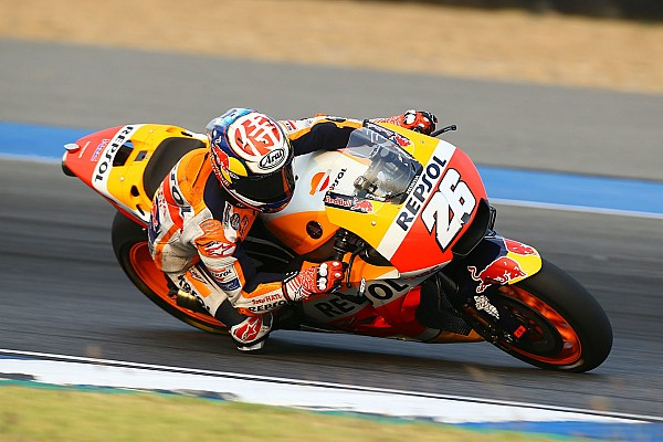 MotoGP Репортаж з тестів Педроса вирвав перемогу у Зарко на тестах MotoGP у Таїланді