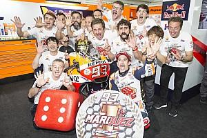 MotoGP Breaking news Honda akan selalu menjadi pilihan Marquez
