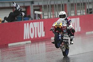 Moto3 Raceverslag Fenati domineert op kletsnat Motegi, P9 Bendsneyder
