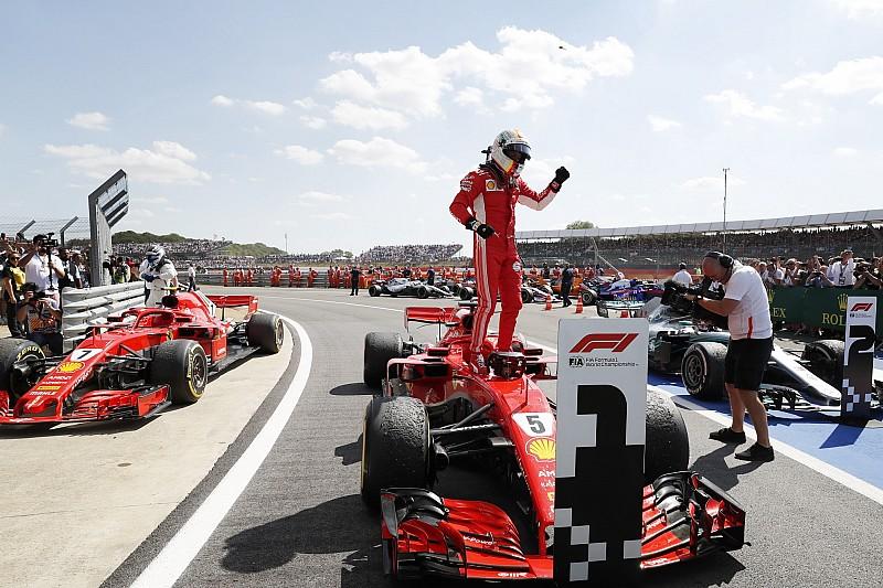 GP Inggris: Vettel menangi duel panas Ferrari vs Mercedes