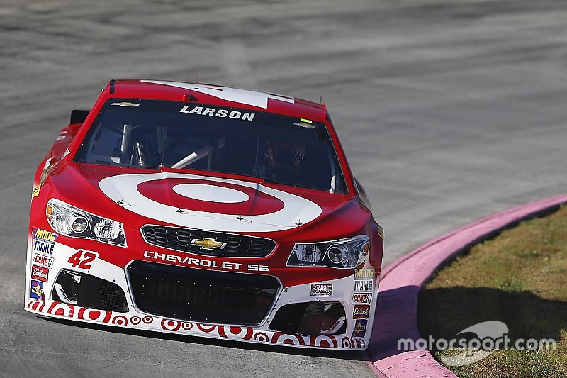 Larson fastest in Friday's only Cup practice at Martinsville