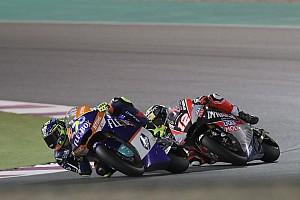 Qatar Moto2: Baldassarri holds off Luthi to win opener