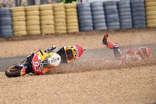 """Lorenzo: """"Vi a Márquez demasiado confiado y me temí su caída"""""""