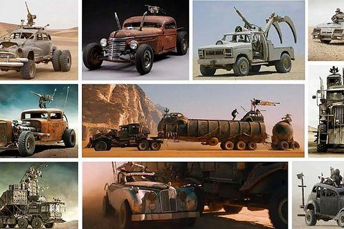 Elárverezik a Mad Max járműveit