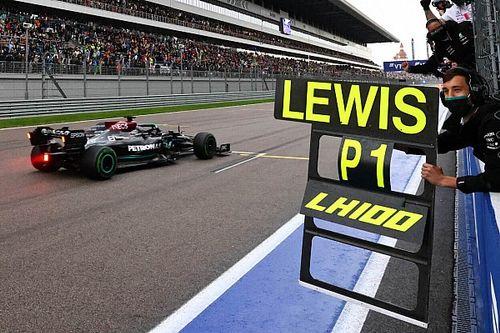 Сверхнервная гонка в Сочи принесла Хэмилтону сотую победу в Формуле 1