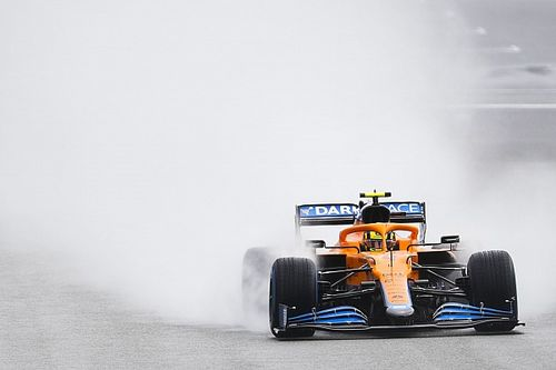 Belgian GP qualifying red-flagged after Norris crashes at Eau Rouge