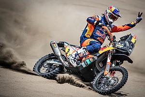 Price, de ganar el Dakar, a operarse de urgencia