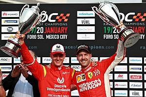 Vettel y la Race of Champions destacan el talento de Mick Schumacher