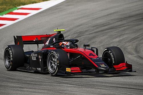 F2巴塞罗那排位赛:埃洛特摘下杆位,周冠宇第三