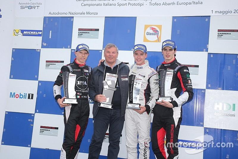 Matteo Cairoli prende tutto a Monza nella Carrera Cup Italia