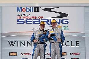 IMSA Others Breaking news Porsche Cayman GT4 scores first win with Cassels and Hindman at Sebring