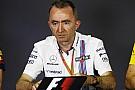 Lowe descarta cambios radicales en Williams durante 2018